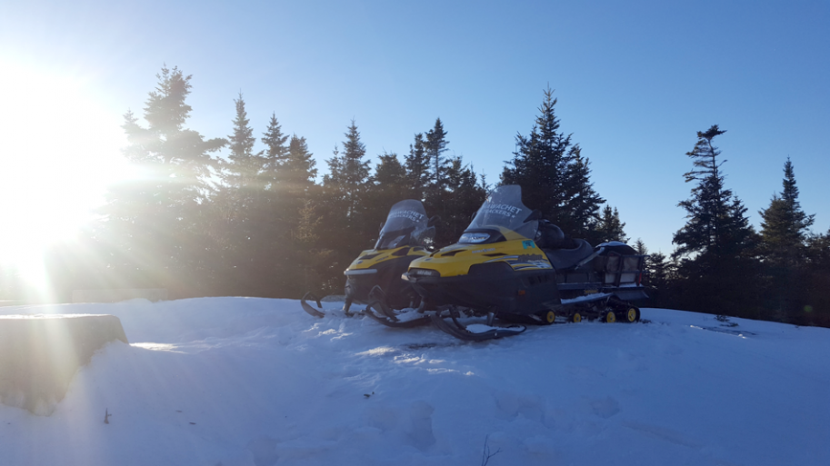 snowmobiles on 12-22-16